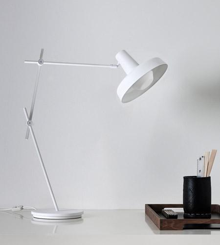 Hvid Arigato bordlampe