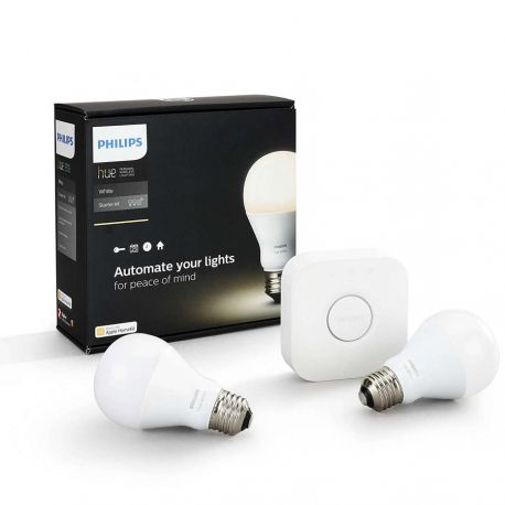 Philips Hue E27 White starter kit