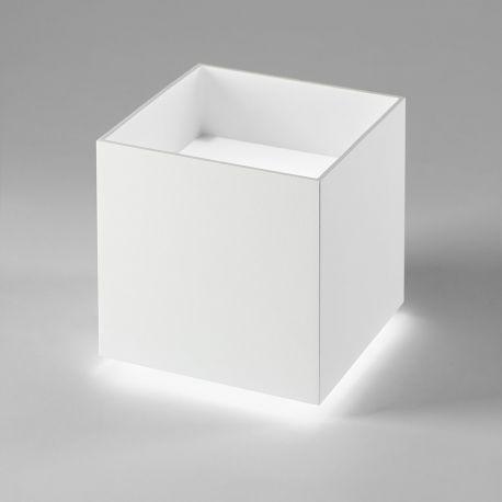 Light-Point Cozy Square bordlampe - Hvid