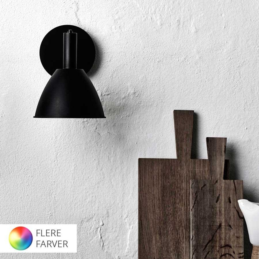 Væglamper - Vægbelysning fra kendte designere - Lys-Lamper.dk