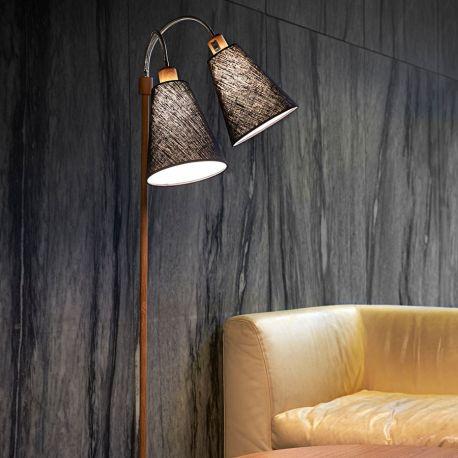 Fodgænger gulvlampe - Trælook - NielsenLight