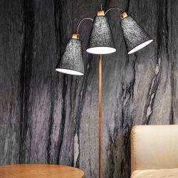 Trafik gulvlampe - Trælook - NielsenLight