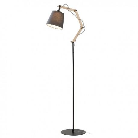 Teo gulvlampe - Sort