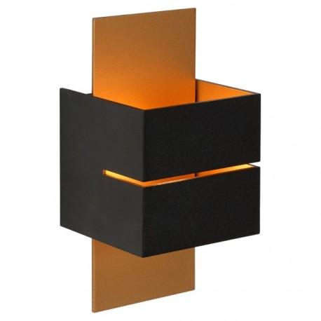 Cubo væglampe - Sort/guld