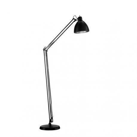 Archi F1 gulvlampe - Mat sort