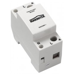 Zensehome DIN-modul med støjfilter, 63A (firewall)