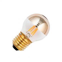 Deco LED Krone topforspejlet (Guld) 3,5W E27 - GN Belysning