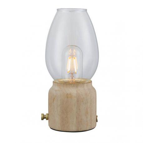 Like Aladdin bordlampe - Lyst træ