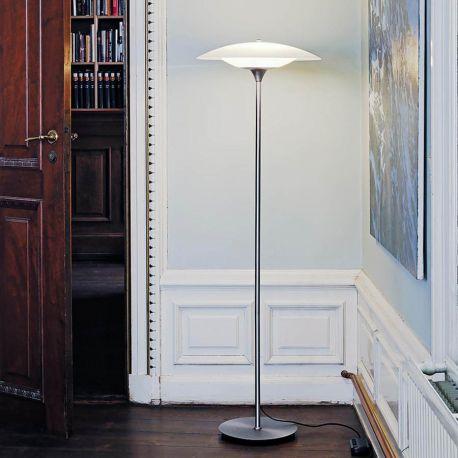 Baroni gulvlampe - Aluminium
