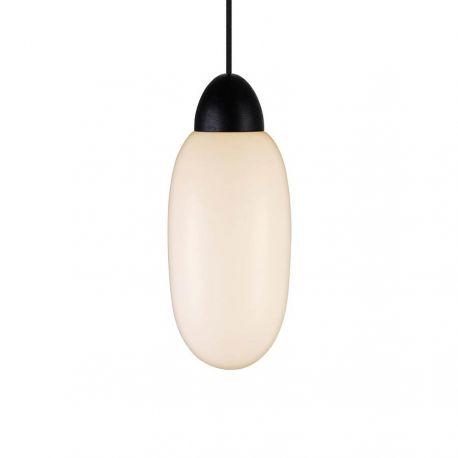 Cream 15 pendel - Opal/sortbejdset træ