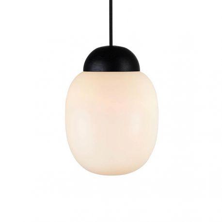 Cream 18 pendel - Opal/sortbejdset træ