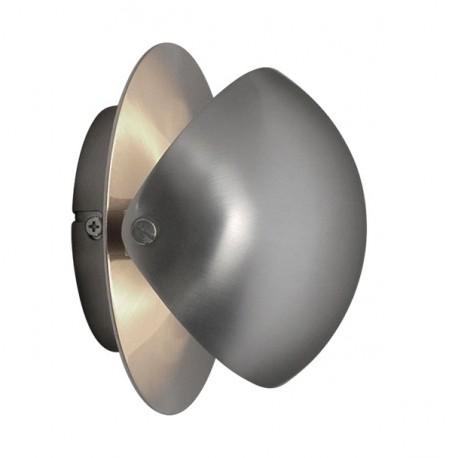 Gisario 15 W1 væglampe - Satin Chrom - Darø