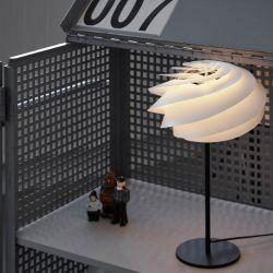 Le Klint Swirl bordlampe - Hvid