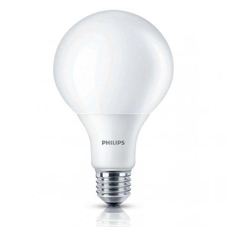 Philips LED Globe 9W (60W) Varm hvid E27