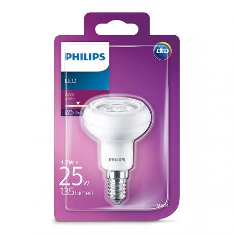 Philips LED Reflektor 1,7W (25W) Varm hvid E14