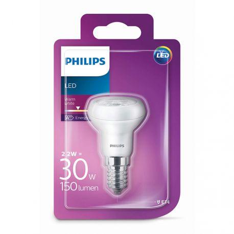 Philips LED Reflektor 2,2W (30W) Varm hvid E14