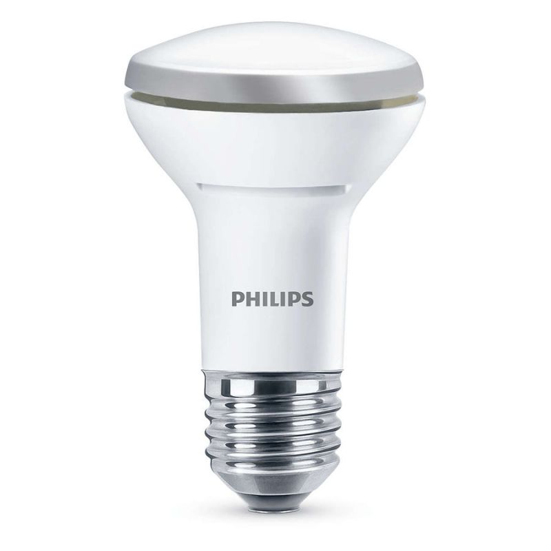 philips led reflektor 2 7w 40w varm hvid e27 lys. Black Bedroom Furniture Sets. Home Design Ideas