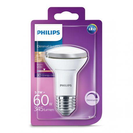 Philips LED Reflektor 5,7W (60W) Dæmpbar Varm hvid E27