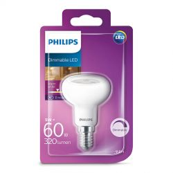 Philips LED Reflektor 5W (60W) Dæmpbar Varm hvid E14