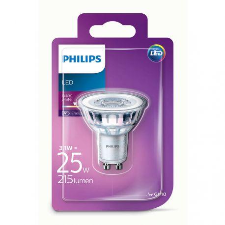 Philips LEDClassic Spot 3,1W (25W) Varm hvid GU10