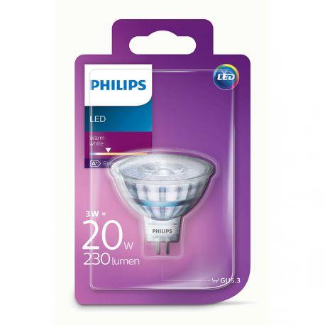 Philips LEDClassic Spot 3W (20W) Varm hvid GU3,5 12 Volt