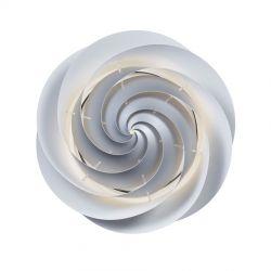 Le Klint Swirl Loft/væglampe Large - Sølv - Ø75