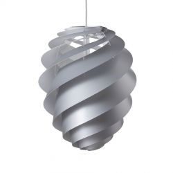 Le Klint Swirl 2 Medium - Sølv - Ø36
