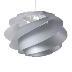 Le Klint Swirl 1 Medium - Sølv - Ø45