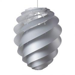 Le Klint Swirl 2 Large - Sølv - Ø55