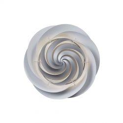 Le Klint Swirl Loft/væglampe Medium - Sølv - Ø60