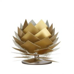 PineApple XS G9 bordlampe - Guld look