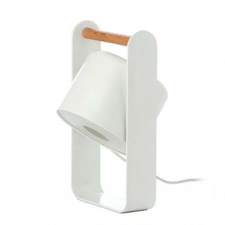 Frandsen Sphere bordlampe - Mat hvid