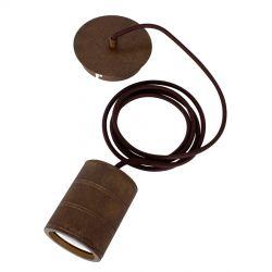 Calex Retro E40 XXL fatningssæt - Antik bronze
