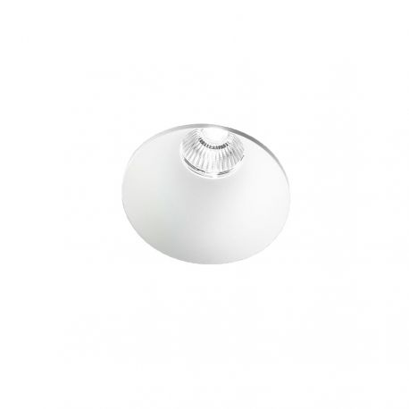 Light-Point Curve Round Trimless indbygningsspot - Hvid