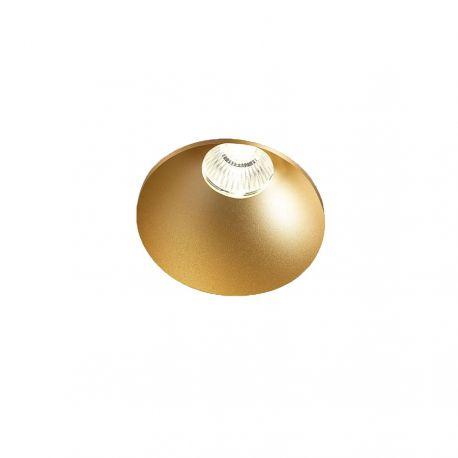 Light-Point Curve Round Trimless indbygningsspot - Guld