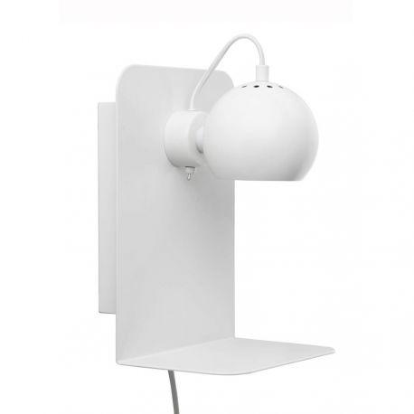 Frandsen Ball m. USB stik - Mat hvid