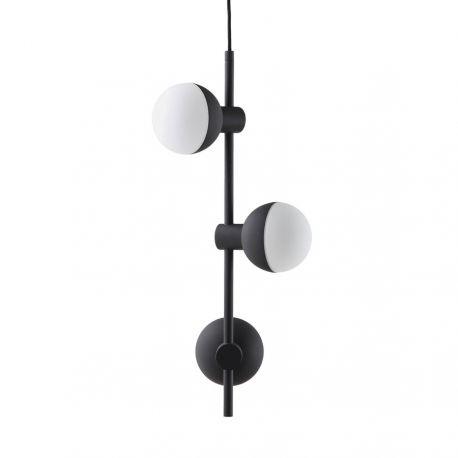 Fabian Vertical pendel m. 3 spots - Mat sort