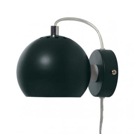 Frandsen Ball væglampe - Dark pine green