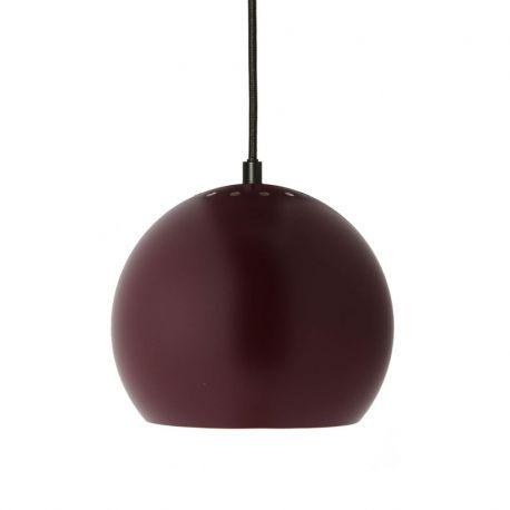 Frandsen Ball pendel - Dark bordeaux - Ø18