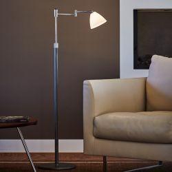 Herstal Swing Dove gulvlampe - Graphite