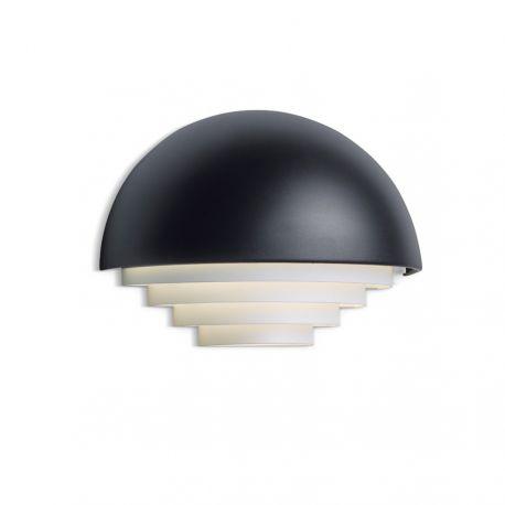 Herstal Motown væglampe - Large - Sort