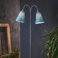 Fodgænger gulvlampe - Galvaniseret