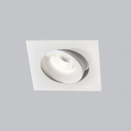 Light-Point Logic Square indbygningsspot - Hvid