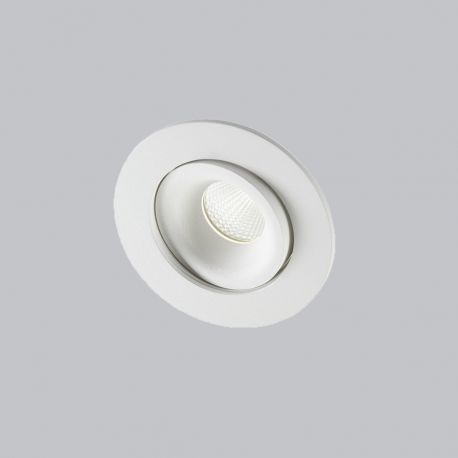Light-Point Logic Round indbygningsspot - Hvid