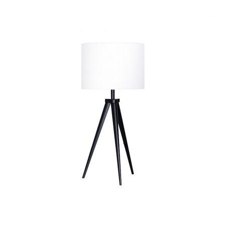 PASO Tri 25 T1 bordlampe - Sort/hvid