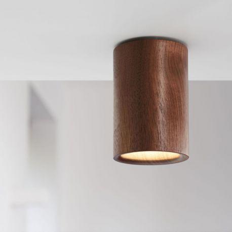 Terence Woodgate SOLID Cylinder Downlight - Valnød