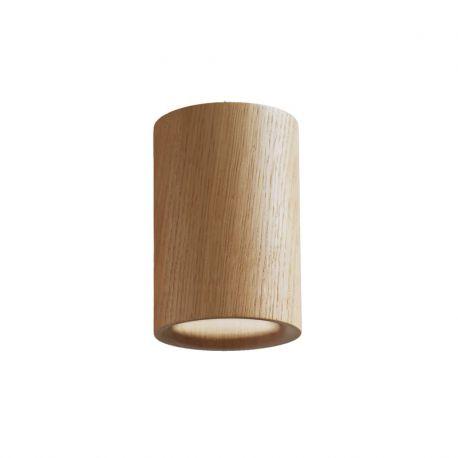 Terence Woodgate SOLID Cylinder Downlight - Egetræ