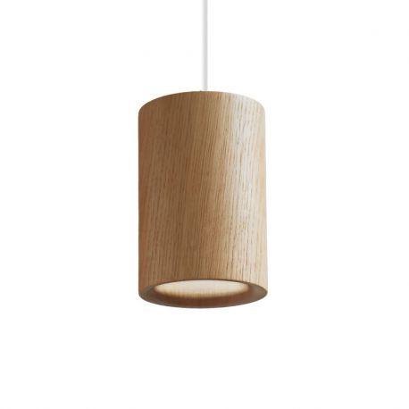 Terence Woodgate SOLID Cylinder Pendel - Egetræ