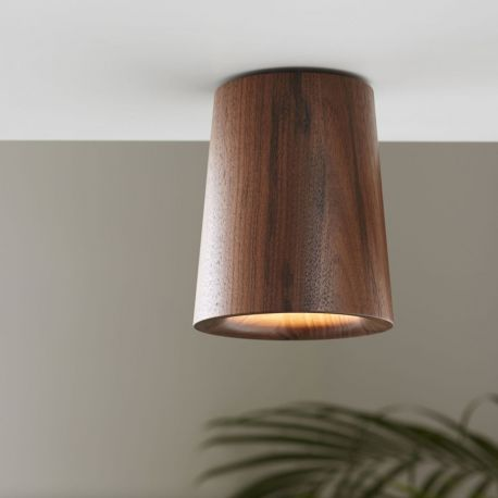 Terence Woodgate SOLID Cone Downlight - Valnød