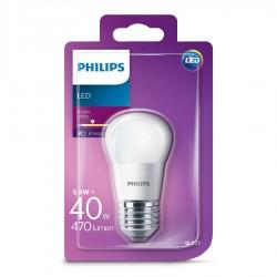 Philips LED Krone Mat 5,5W (40W) Varm hvid E27